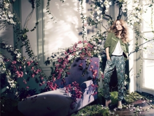 Vanessa Paradis for H&M